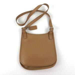 Coach Light Brown Crossbody Purse Handbag